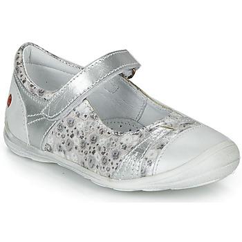 Sko Pige Ballerinaer GBB PRINCESSE Sølv