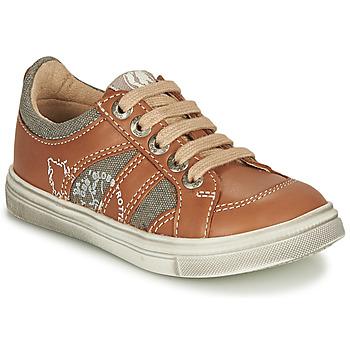 Sko Dreng Lave sneakers GBB PALMYRE Cognac