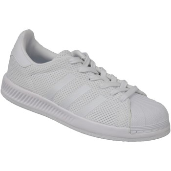 Sko Børn Lave sneakers adidas Originals Superstar Bounce BY1589 White