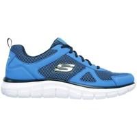 Sko Herre Lave sneakers Skechers Track Blå
