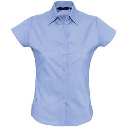 textil Dame Skjorter / Skjortebluser Sols EXCESS CASUAL WOMEN Azul