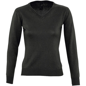 textil Dame Pullovere Sols GALAXY SWEATER WOMEN Negro