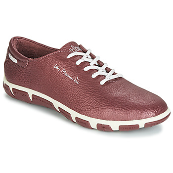 Sko Dame Lave sneakers TBS JAZARU Bordeaux