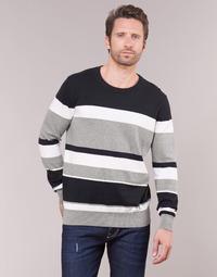textil Herre Pullovere Casual Attitude LORISS Sort / Grå