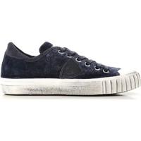 Sko Dame Lave sneakers Philippe Model GRLD EV01 blu