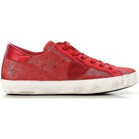 Sko Dame Lave sneakers Philippe Model CLLD XM89 rosso