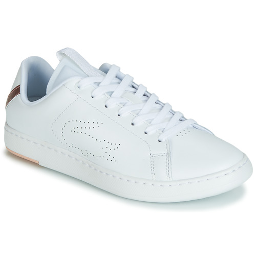 Sko Dame Lave sneakers Lacoste CARNABY EVO LIGHT-WT 119 3 Hvid / Pink