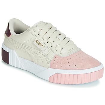 Sko Dame Lave sneakers Puma CALI REMIX Hvid / Pink