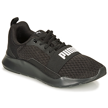 Sko Lave sneakers Puma PUMA WIRED.BLK Sort