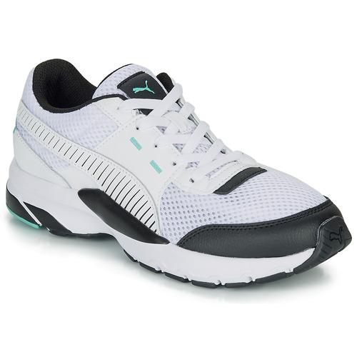Sko Lave sneakers Puma FUTURE RUNNER PREMIUM Hvid / Sort