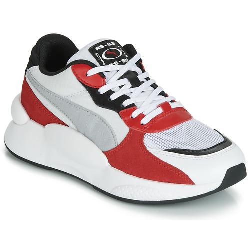 Sko Børn Lave sneakers Puma RS-98 SPACE JUNIOR Hvid / Rød