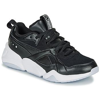 Sko Dame Lave sneakers Puma NOVA 2. W Sort
