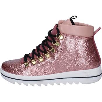Sko Dame Sneakers Trepuntotre sneakers gomma pelle Rosa