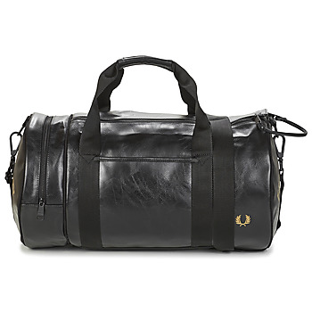 Tasker Herre Sportstasker Fred Perry TONAL BARREL BAG Sort