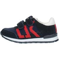 Sko Dreng Lave sneakers Lumberjack SB47505 Blue and red