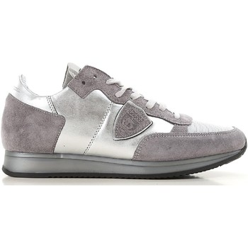 Sko Dame Lave sneakers Philippe Model TRLD ME02 argento