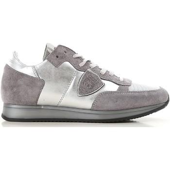 Sko Dame Lave sneakers Philippe Model TRLD ME02 argento