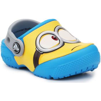 Sko Børn Træsko Crocs Crocsfunlab Minions Clog 204113-456 yellow, blue