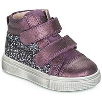 Sko Pige Høje sneakers Acebo's 5299AV-LILA-C Violet