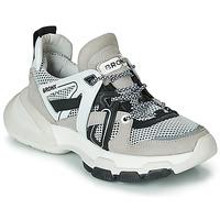 Sko Dame Lave sneakers Bronx SEVENTY STREET Grå / Hvid / Sort