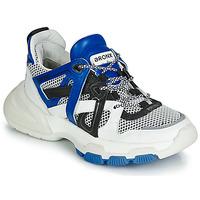 Sko Dame Lave sneakers Bronx SEVENTY STREET Hvid / Sort / Blå