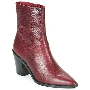 Sko Dame Høje støvletter Bronx NEW AMERICANA LOW Bordeaux