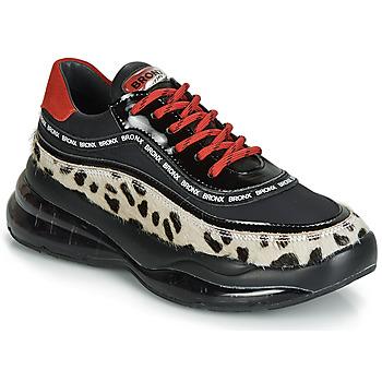 Sko Dame Lave sneakers Bronx BUBBLY Sort