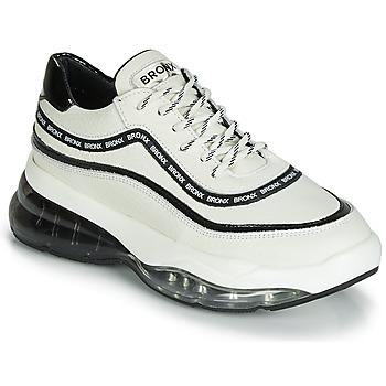 Sko Dame Lave sneakers Bronx BUBBLY Hvid / Sort