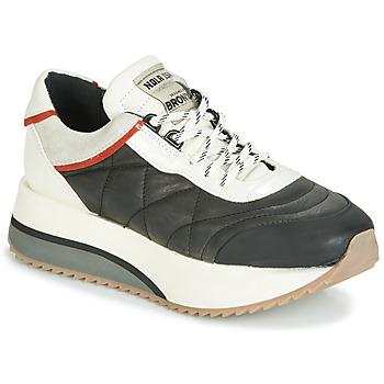 Sko Dame Lave sneakers Bronx NOLA ISA Sort / Grå