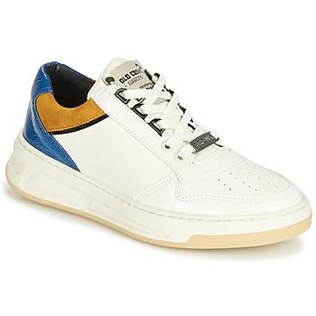 Sko Dame Lave sneakers Bronx OLD COSMO Hvid / Okker / Blå