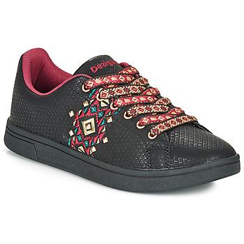 Sko Dame Lave sneakers Desigual COSMIC NAVAJO Sort