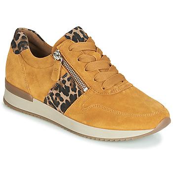 Sko Dame Lave sneakers Gabor 3342010 Sennep
