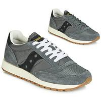 Sko Lave sneakers Saucony JAZZ ORIGINAL VINTAGE Grå / Sort