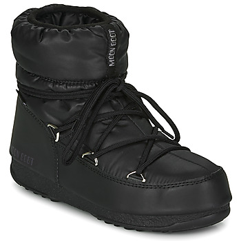 Sko Dame Vinterstøvler Moon Boot MOON BOOT LOW NYLON WP 2 Sort