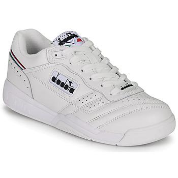 Sko Lave sneakers Diadora ACTION Hvid