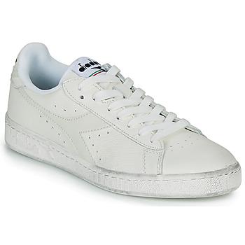 Sko Lave sneakers Diadora GAME L LOW WAXED Hvid