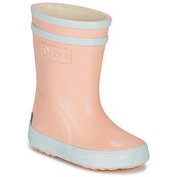 Sko Pige Gummistøvler Aigle BABY FLAC Pink