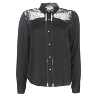 textil Dame Skjorter / Skjortebluser Kaporal PARY Sort