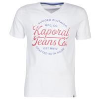 textil Herre T-shirts m. korte ærmer Kaporal OBUCE Hvid