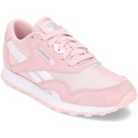 Sko Pige Lave sneakers Reebok Sport Classic Nylon Pink