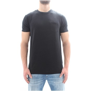 textil Herre T-shirts m. korte ærmer Scotch & Soda 149010 Black