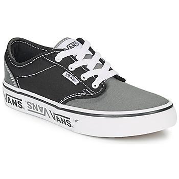 Sko Børn Lave sneakers Vans YT ATWOOD NR Sort