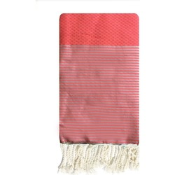 textil Dame pareos Traditions Med ZIWANE ND FLUO ROSE Pink