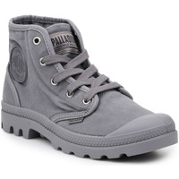 Sko Herre Høje sneakers Palladium Manufacture Lifestyle shoes  US Pampa Hi Titanium 92352-011-M grey