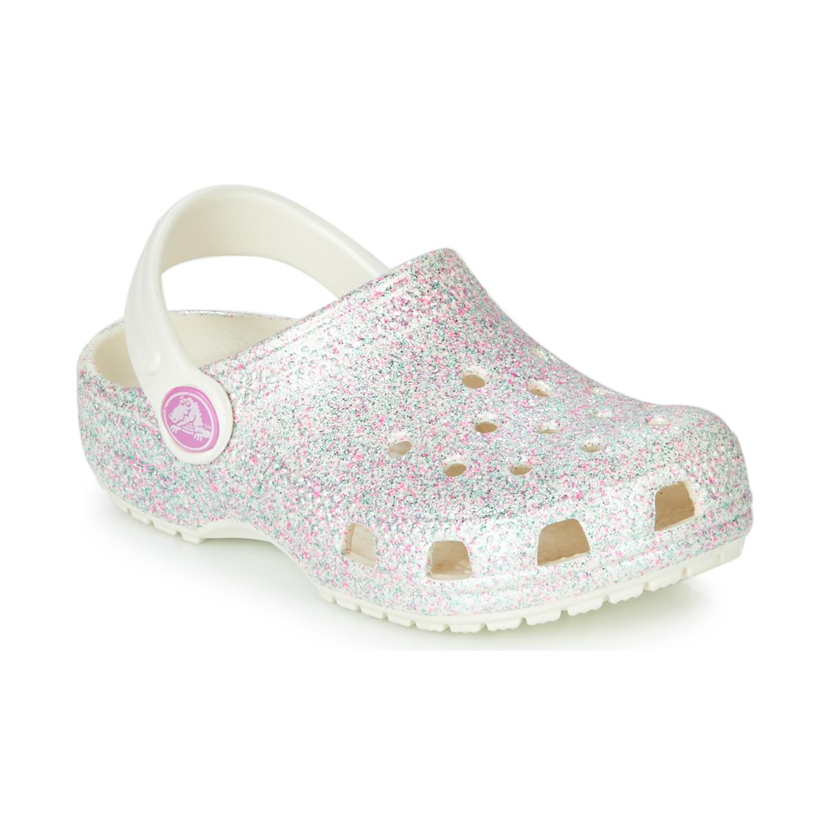 Træsko til børn Crocs  CLASSIC GLITTER CLOG K