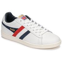 Sko Herre Lave sneakers Gola EQUIPE Hvid / Blå / Rød