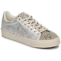Sko Dame Lave sneakers Gola ORCHID II CHEETAH Hvid / Sølv