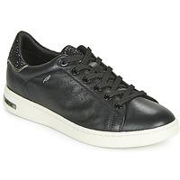 Sko Dame Lave sneakers Geox D JAYSEN Sort