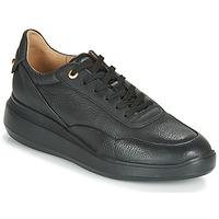 Sko Dame Lave sneakers Geox D RUBIDIA Sort