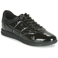 Sko Dame Lave sneakers Geox D AVERY Sort